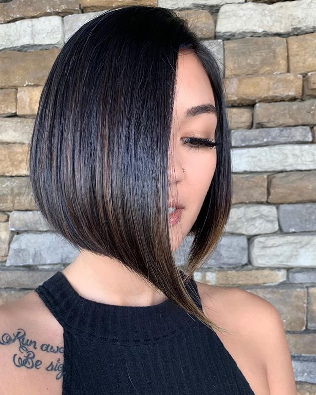Crescent Inverted Bob for the Eclectic Vibe