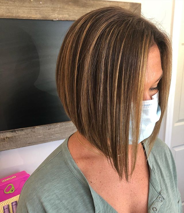Parallel Geometry Inverted Bob for That Assertive Look