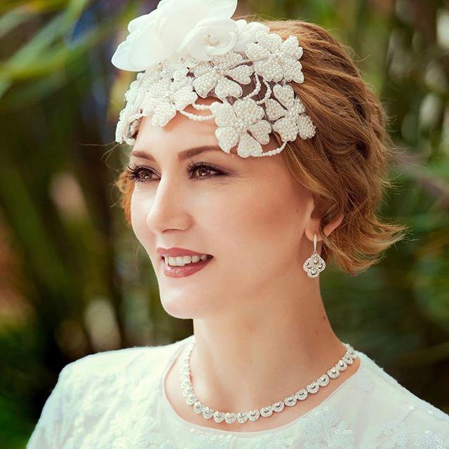 Royal Wedding Style Headpiece for Short Hair