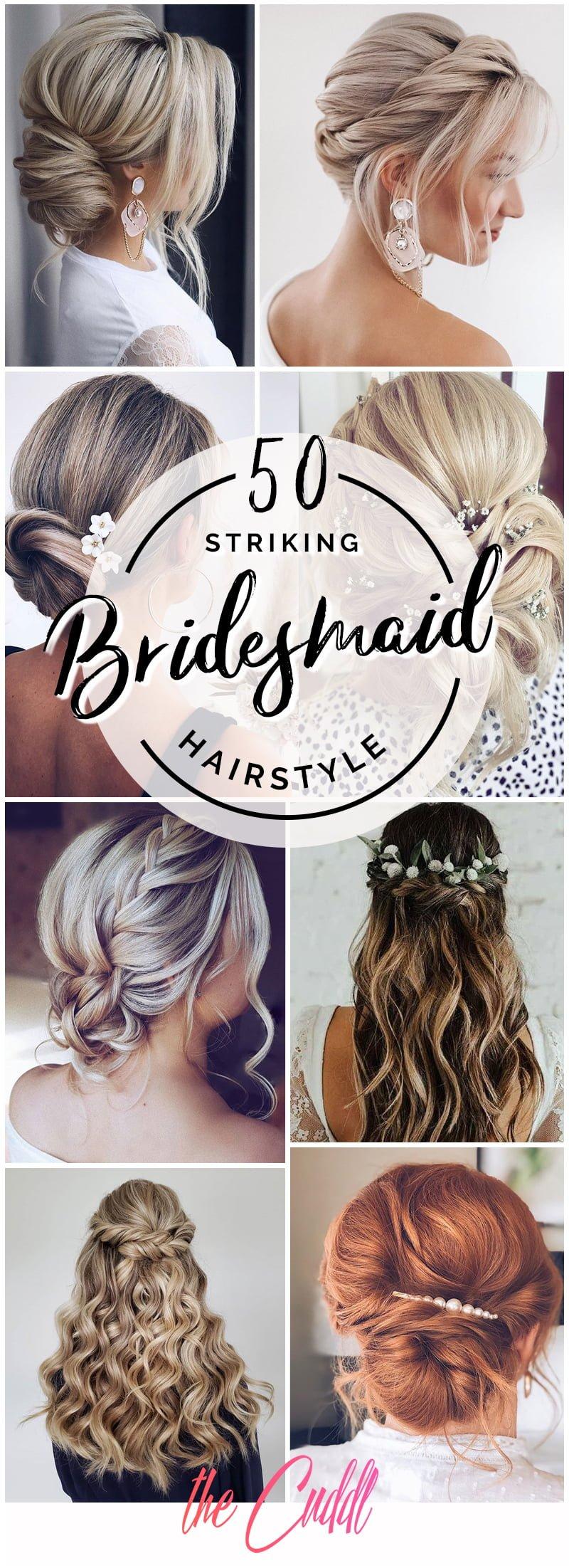 Best Bridesmaid Hairstyle Ideas