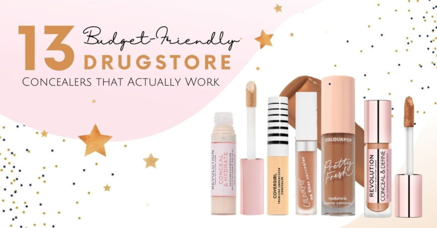 Best Drugstore Concealers to Fit Your Budget