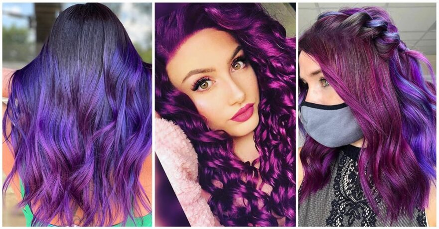 Best Dark Purple Hairstyles