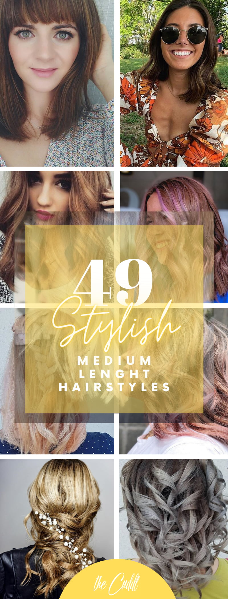 Best Medium-Length Hair Ideas