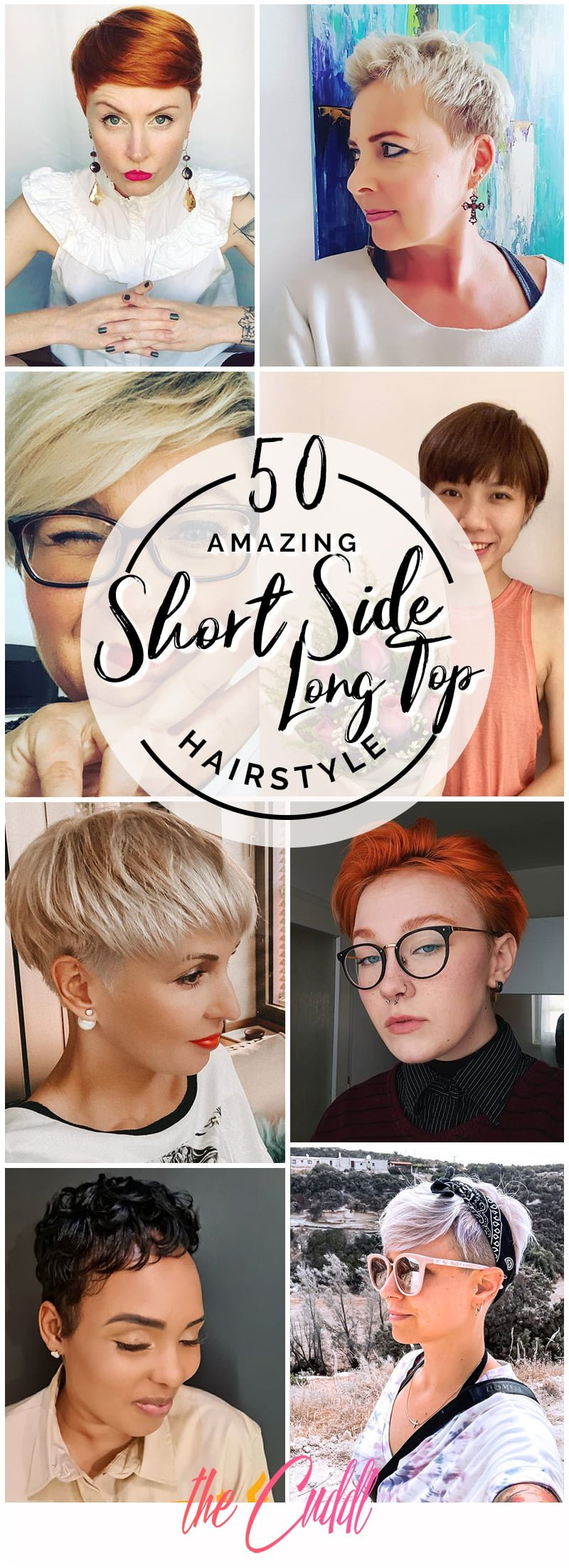 Best Short Sides Long Top Hairstyle Ideas