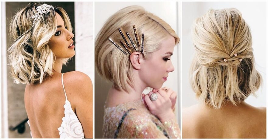 Best Wedding Hairstyle Ideas for Short Hair
