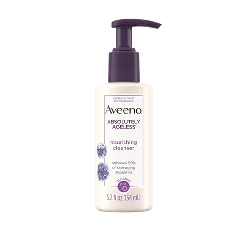 Aveeno Absolutely Ageless Nourishing Face Cleanser