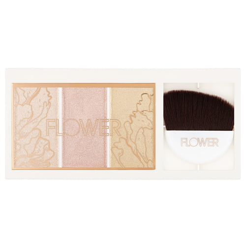 Flower Beauty Shimmer and Strobe Highlighting Palette