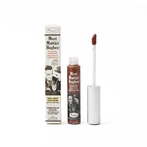 The Balm Meet Matt(e) Hughes Liquid Lipstick: Trustworthy