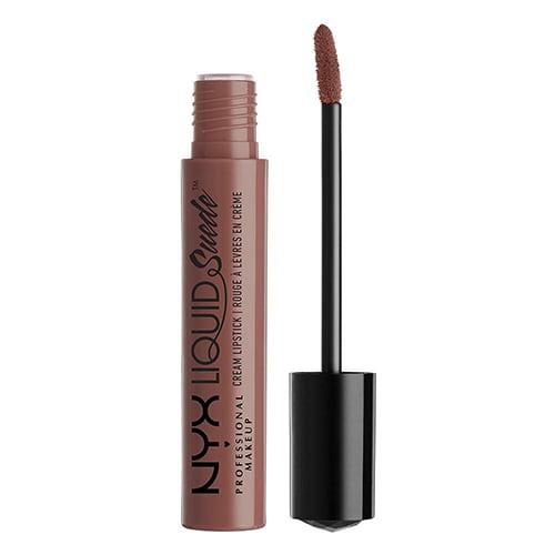 NYX Liquid Suede Cream Lipstick: Brooklyn Thorn