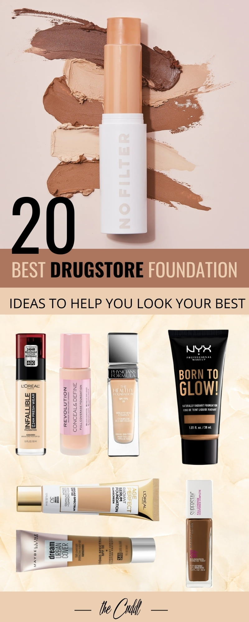 20 Best Drugstore Foundation Ideas To Help You Look Your Best In 2021