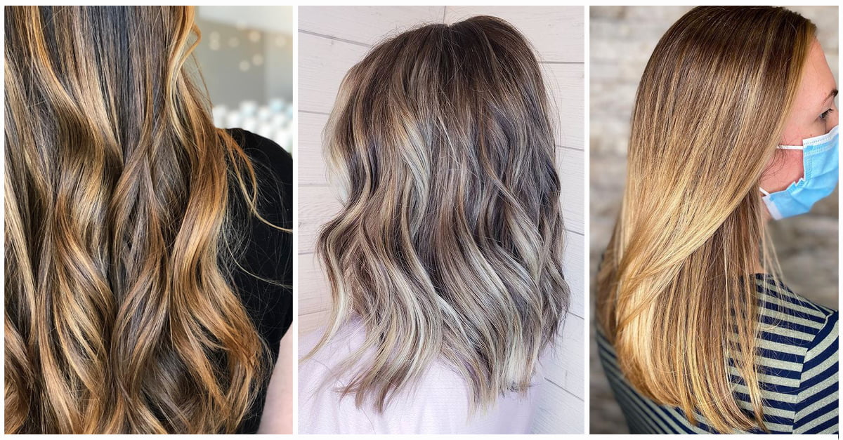 50 Best And Flattering Brown Hair With Blonde Highlights For 2020