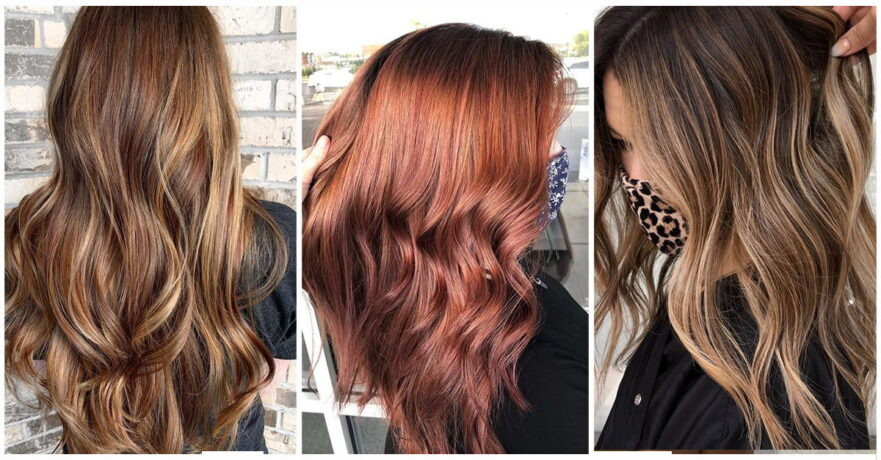 49+ Vibrant Fall Hair Color Ideas to Accent Your New Hairstyle