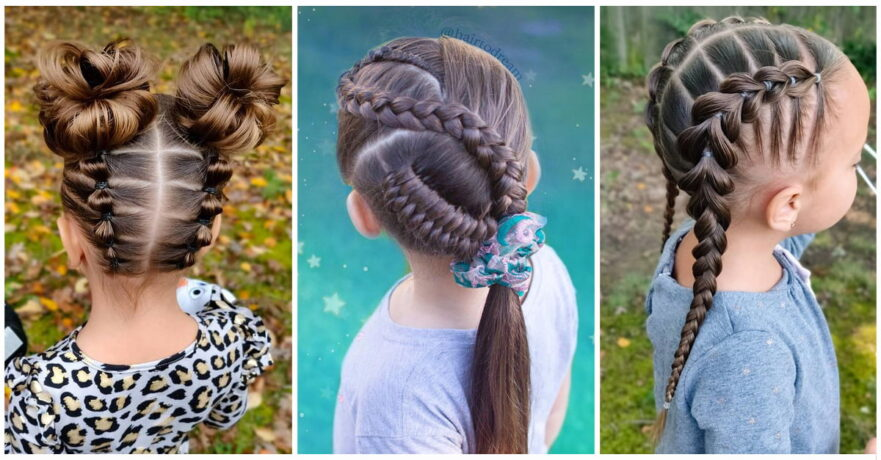 50+ Pretty Perfect Cute Hairstyles for Little Girls to Show Off Their Classy Side