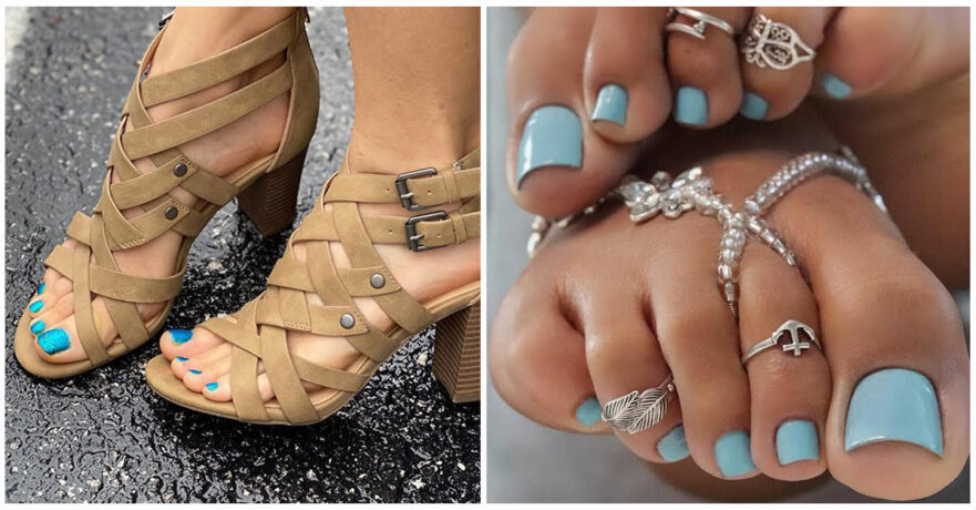 50 Adorable Summer Toe Nail Art Inspirations to Let the Summer Fun Begin