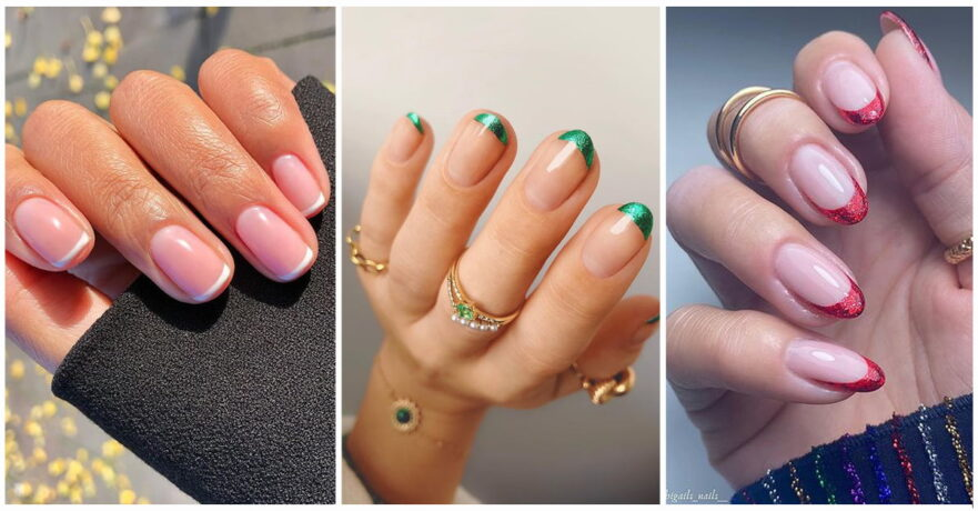 49+ Awesome French Tip Nails to Bring Another Dimension to Your Manicure