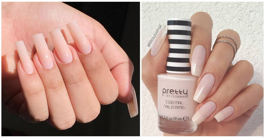 43+ Creative Styles for Nude Nails You'll Love