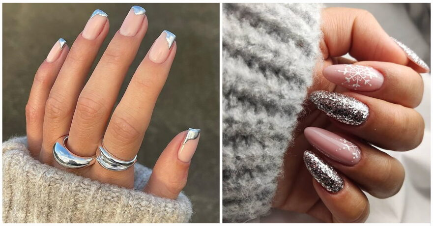 50+ Awesome Silver Nail Ideas for Any Occasion