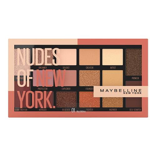 Maybelline Nudes of New York Eyeshadow Palette