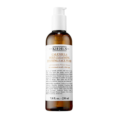 Kiehls Since 1851 Calendula Deep Clean Foaming Face Wash