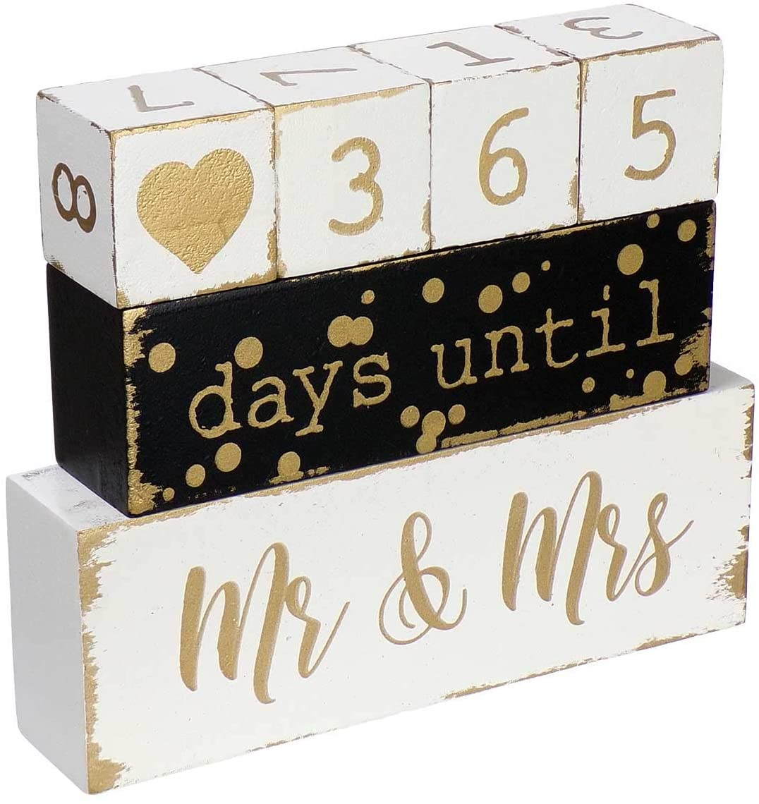 A Countdown To Mr. & Mrs. Sign