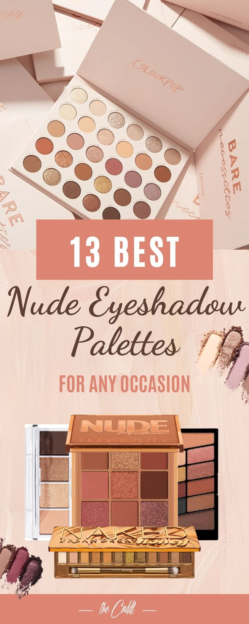 Best Nude Eyeshadow Palettes