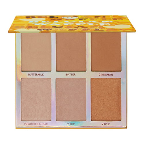 BH Cosmetics Weekend Vibes Belgian Waffle 6 Color Baked Bronzer and Highlighter Palette