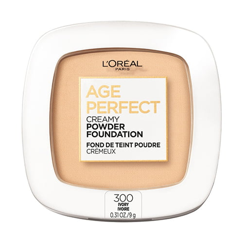 LOreal Paris Age Perfect Creamy Pressed Powder Foundation with Minerals